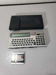 *CASIO* Casio * карманный компьютер * карманный компьютер -FX-750P* кейс *ROM имеется *