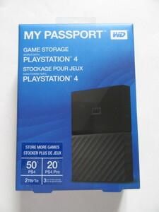★新品★ウェスタンデジタル★USB3.0対応 ポータブルハードディスク、2TB★My Passport Gaming Storage