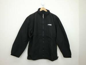【超美品】PRGR(プロギア) ウィンドブレーカー 黒 メンズ L ゴルフウェア 2009-0593 中古