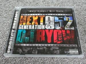 ★送料無料★ DJ RYOW NEXT GENERATION 52 MIX CD HIP HOP RAP MC R&B リョウ ヒップホップ TOKONA MURO MISSIE KIYO SHU-G HAZIME WATARAI
