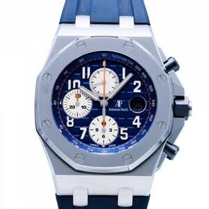 オーデマ・ピゲ AUDEMARS PIGUET ロイヤルオークオフショア クロノグラフ 26470ST.OO.A027CA.01 ブルー文字盤 中古 腕時計 メンズ