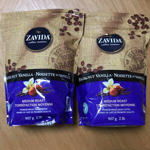 ザビダコーヒー コーヒー豆 907g×2袋