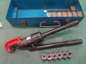 ●IZUMI イズミ 手動油圧式圧着工具 15号 泉精器 T型コネクタ用 ●0