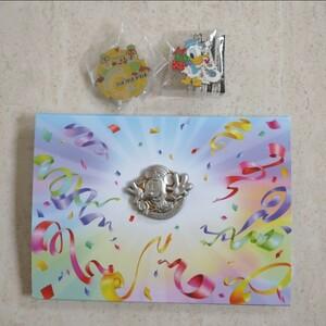 新品 ディズニー ピンバッチ ディズニーランド35周年 JCB カード 非売品 チックタックダイナー クリスマス 限定 ピンバッジ
