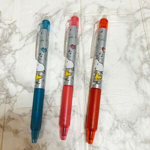 新品 スヌーピー フリクション ボールペン 0.5mm 3本