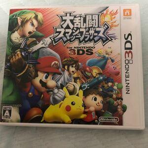大乱闘スマッシュブラザーズ 3DSソフト 3DS 任天堂3DS 大乱闘スマッシュブラザーズ3DS スマブラ