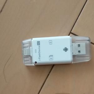 iPhone カードリーダー USBメモリー TOSHIBA Android MICRO USB SDカード データ転送 iPad