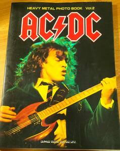 写真集「HEAVY METAL PHOTO BOOK Vol.2 AC/DC」   フォトブック