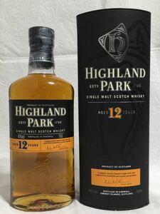 アイランズ ウイスキー ハイランドパーク12年 旧ボトル 700ml 40% 箱付き