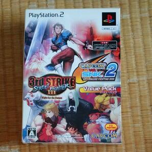 ストリートファイターⅢ サードストライク CAPCOM VS. SNK PS2 PS2ソフト バリューパック