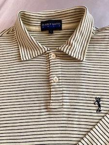 パーリーゲイツ PEARLY GATES GOLF 長袖シャツ サイズ1 日本製
