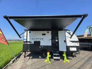 new car Coach men X-LITE 17FQS camping trailer 20 feet 625 centimeter sliding out immediate payment stock car