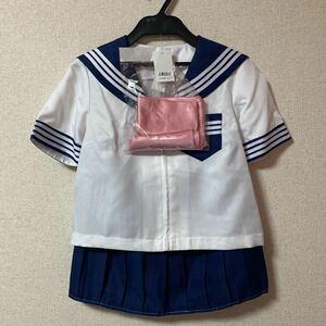 コスプレ 3点セット 制服 パステル セーラー服 上下セット コスプレ衣装 女子制服