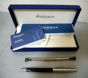 * popular Agnes b/ Waterman ballpen *WATERMAN by agnes b. metropolitan SP edition * limited sale goods * complete sale * rare thing * prompt decision equipped!