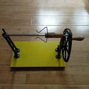座車 織りの道具