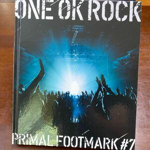ONE OK ROCK PRIMAL FOOTMARK 2018 #7 写真集のみ。 メンバーズカード無し/ワンオクロック
