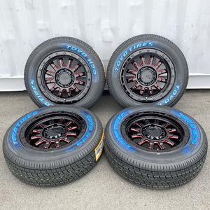 夏タイヤ 車検対応 ハイエース レジアスエース 200系 16インチタイヤホイール 16インチタイヤホイール TOYO H20 215/70R6 ホワイトレター