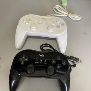 送料無料 Wii クラシックコントローラー 2個セット