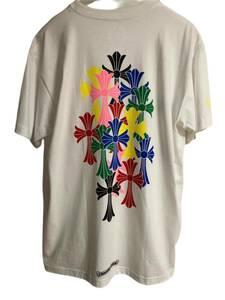 クロムハーツ Chrome Hearts MLTCOL CEM CRS T-SHRT サイズ:XL マルチセメタリークロスプリントTシャツ ホワイト 《ap》【07】