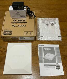 YAMAHA 無線LANアクセスポイント WLX202の中古 電源アダプター(YPS-12HT)付き