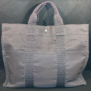 HERMES  エルメス  トートバッグ エールライン MM 黒 ブラック アパレル ファッション ブランド かばん 鞄 ハンドバック