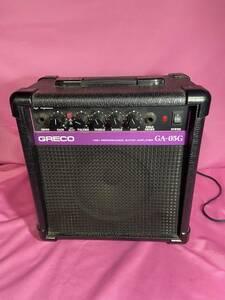 【動作確認済み】GRECO グレコ GA-05G 小型ギターアンプ ライブハウス スタジオ 中古品 個人練習用 初心者向け おすすめ品