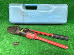 中古品 泉精機 IZUMI イズミ 手動 油圧式 圧着工具 油圧ヘッド 分離式 工具 9H-2 オスダイス 1個付 【2】
