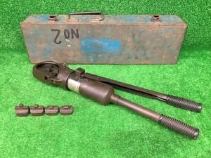 中古品 イズミ IZUMI 泉精器 手動油圧式工具 9号H ダイス4個付