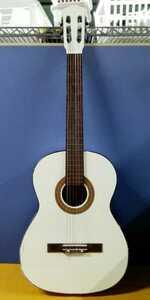 g_t O466 クラシックギター ATLAS[No.680] ホワイト アトラス(難あり・ジャンク品)