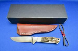 SETO MADE (セトメード)IK-14 インテグラルナイフ スタッグホーン 日本製 新品未使用 MADE IN JAPAN