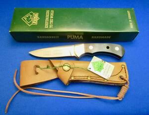PUMA プーマ ヴィンテージ 4 STAR NICKER WOOD Hunting Knife 6025 ゾーリンゲン ドイツ製 MADE IN GERMANY