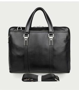 新品 牛革 ハンドメイド メンズバッグ 本革 ビジネスバッグ ブリーフケース レザー 通勤鞄 トートバッグ 手提げバッグ A4対応AMWYY-MB-261