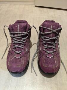 トレッキングシューズ 23 登山靴 ニューバランス キャンプ アウトドア ゴアテックス 703 防水 ハイキング