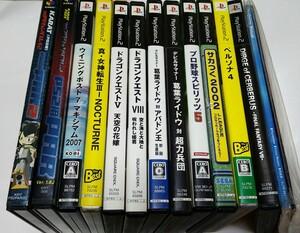 【訳あり品】PS2 プレステ2 プレイステーション2 PS2ソフト ソフト系 ジャンク まとめて 12枚