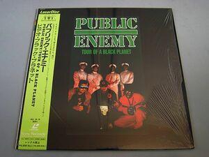 《新品同様》PUBLIC ENEMY Tour Of A Black Planet 1991 Japan Orig.Laserdisc パブリック・エナミー ビデオ・ブラックプラネット SRLM 811