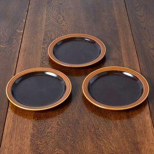 IZ50666I○3枚セット HORNSEA ブロンテ プレート 17cm 英国 ヴィンテージ ホーンジー Bronte イギリス モダン ビンテージ デザート 食器 皿