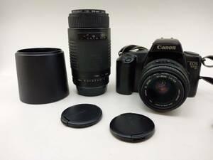 Canon EOS 1000QD / Canon ZOOM LENS EF 35-80mm 1:4-5.6 一眼レフカメラ 他 レンズ 3点まとめ ジャンク