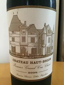 赤ワイン シャトーオーブリオン 2008