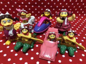 マクドナルド おもちゃ大量 バーディ ミールトイ ドナルド ハンバーグラー グリマス ハッピーセット