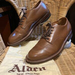 Alden オールデン インディー オックスフォード/N6417 INDY OX 81/2B/D 26.5cm ブラウン 茶