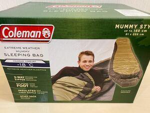 コールマン 寝袋 スリーピングバッグ マイナス18度 当日発送 MUMMY