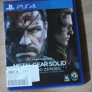 PS4 メタルギア