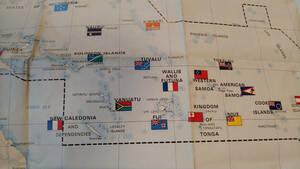 ■■ 大洋州の地図 ■■