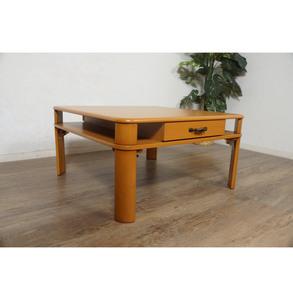送料無料【新品】アンティーク 引き出し付き テーブル アウトレット 座卓 センターテーブル FF3291