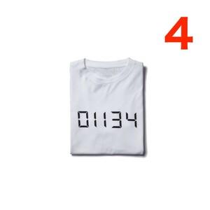 中古 2014-2015 A/W uniform experiment HELLO TEE サイズ4 WHITE ハロー HF 藤原ヒロシ Fragment Design フラグメント