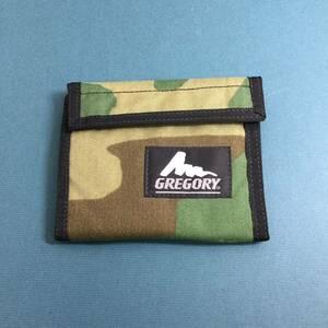 グレゴリー USA製 旧タグ 迷彩 ウッドランドカモ スポーツウォレット 財布