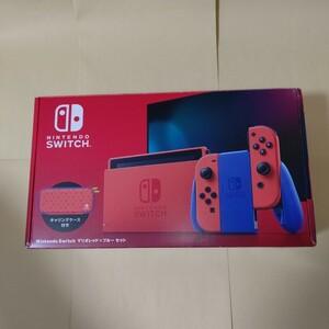 Nintendo Switch ニンテンドースイッチ本体 マリオレッド×ブルー