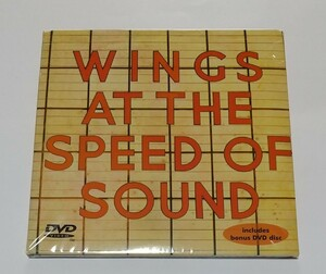 CD+DVD輸入盤リプロ盤 WINGS AT THE SPEED OF SOUND CD + ROCKSHOW DVD
