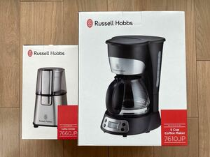 コーヒーメーカー グラインダー Russell Hobbs 7661JP