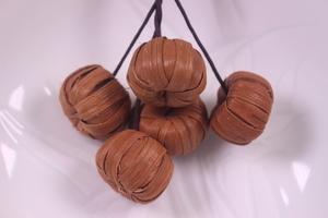山葡萄籠 手作り ペンダント チャ―ム アクセサリー ストラップ かごバッグ